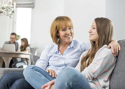 Therapy Insider - Teen girl in rehabilitation from addiction at therapeutic facility for adolescents