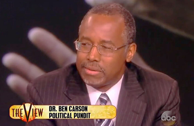 Will Ben Carson Be The Second Black President?