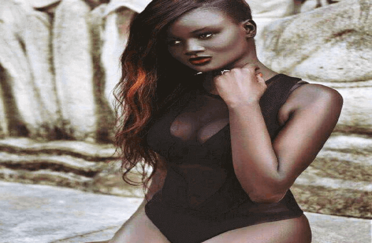 Teenage Beauty Once Bullied for Her Onyx Skin Tone, Now Makes a Living as a model.